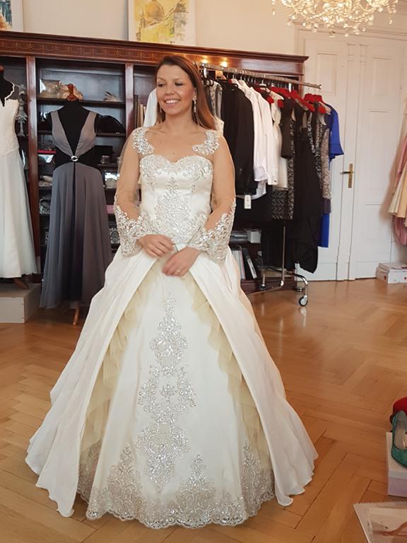 Myrelle Couture Marina Deynega Brautmode Hochzeit Anzug Massgeschneidert Story Cm 18