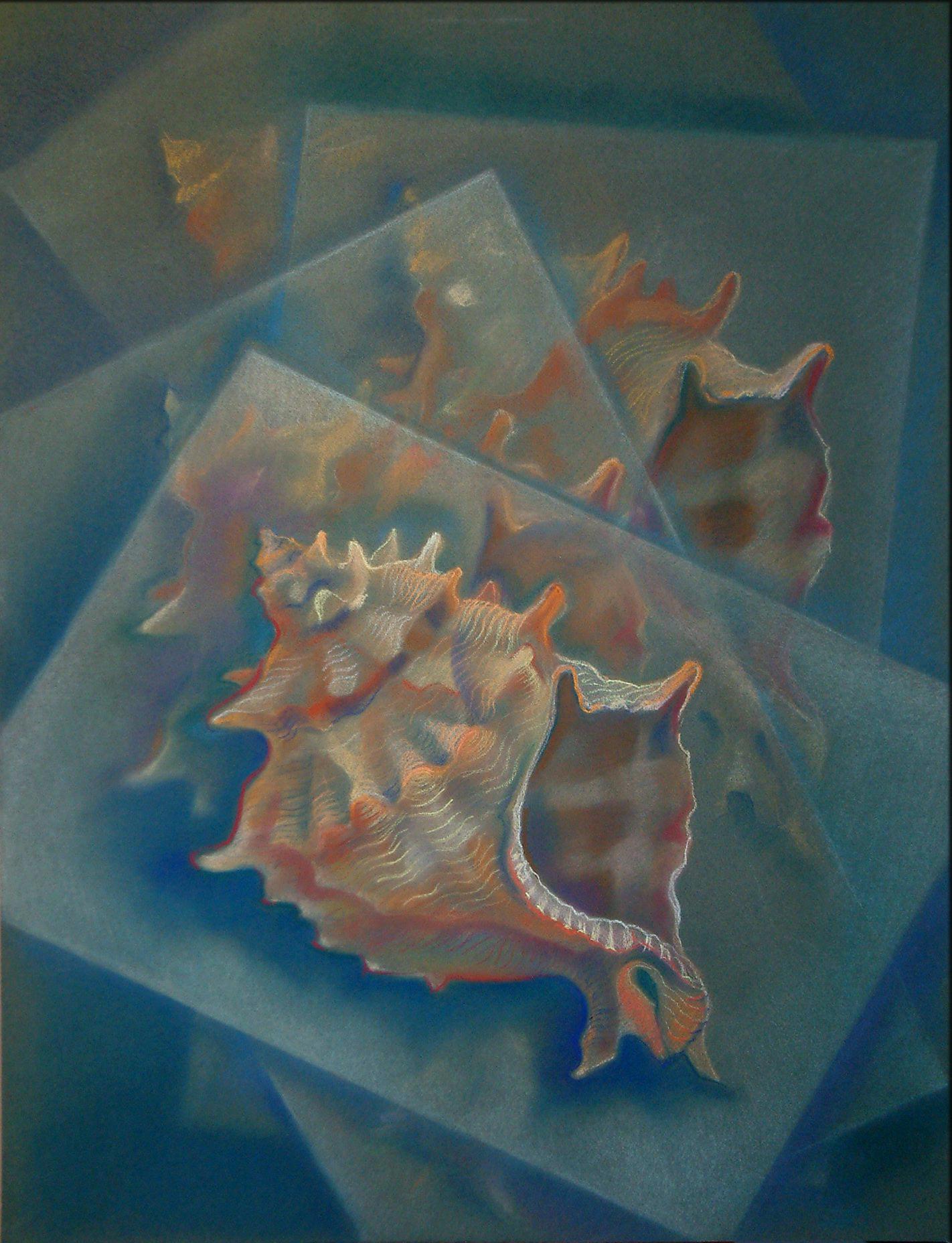 Fatamorgana, Pastell (43x61 cm)