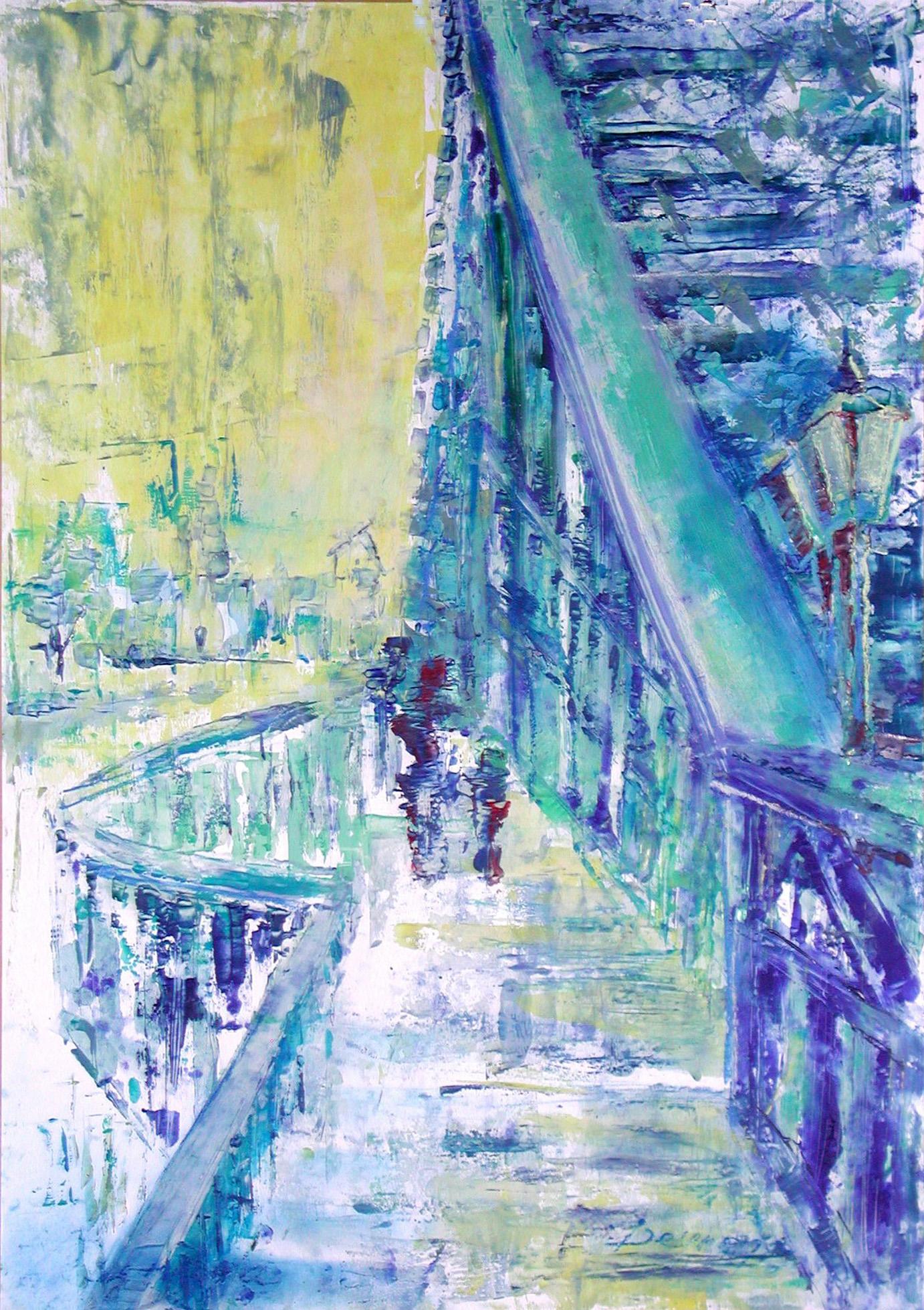 "Dresden ""die Brücke"", Acryl (43x61cm)"