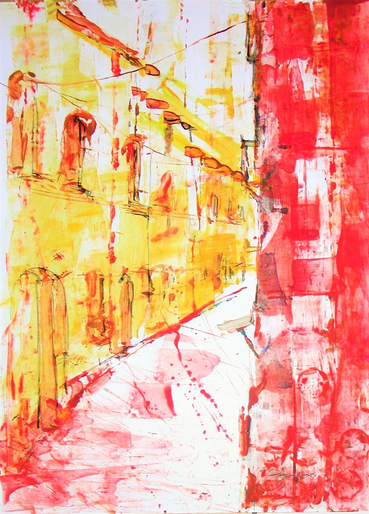"""Dresden """"Frauenkirche"""", Acryl (43x61cm)"""