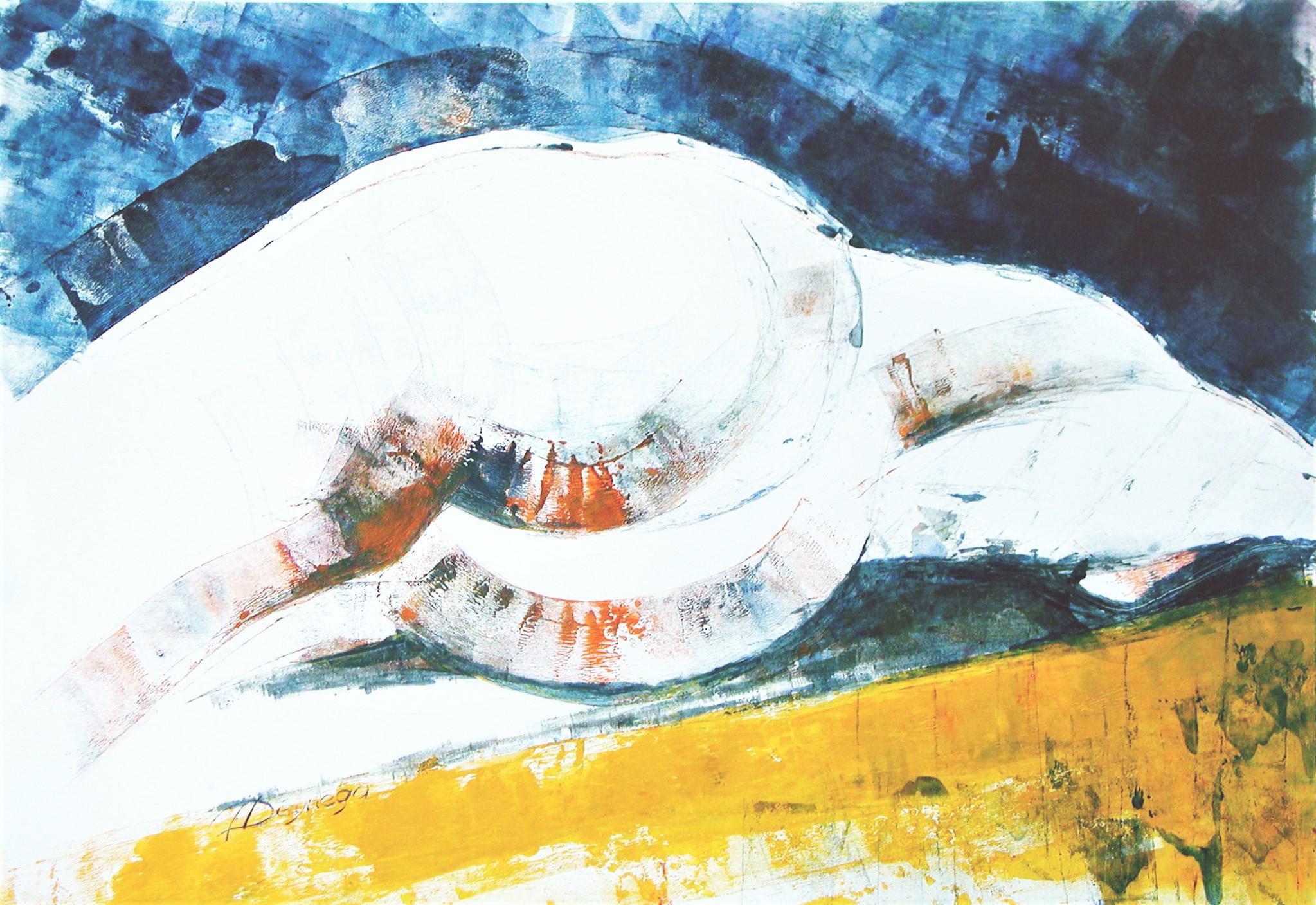 Akt IV, Acryl (43x61 cm)