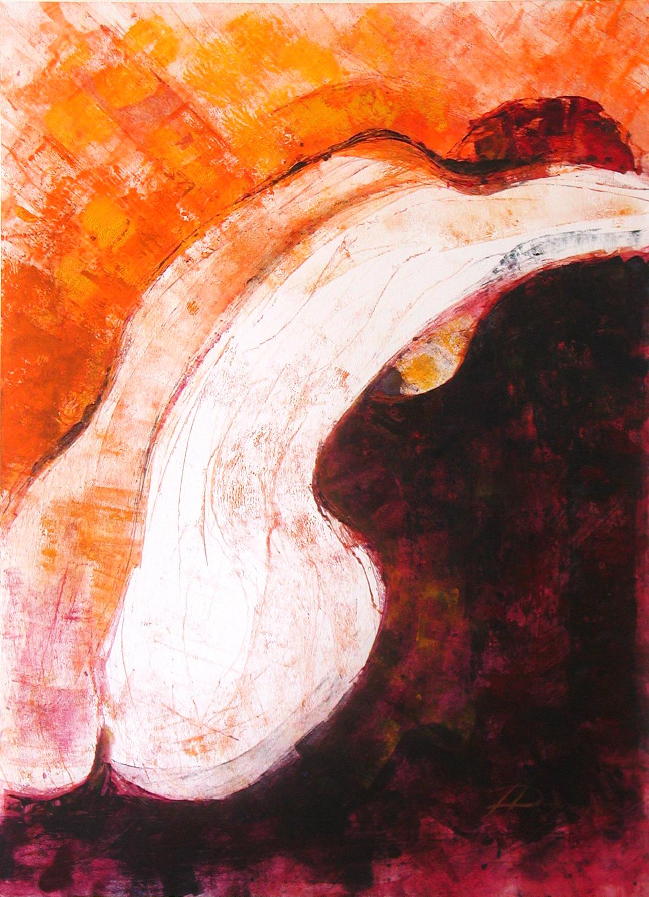 Chelo, Acryl (43x61 cm)