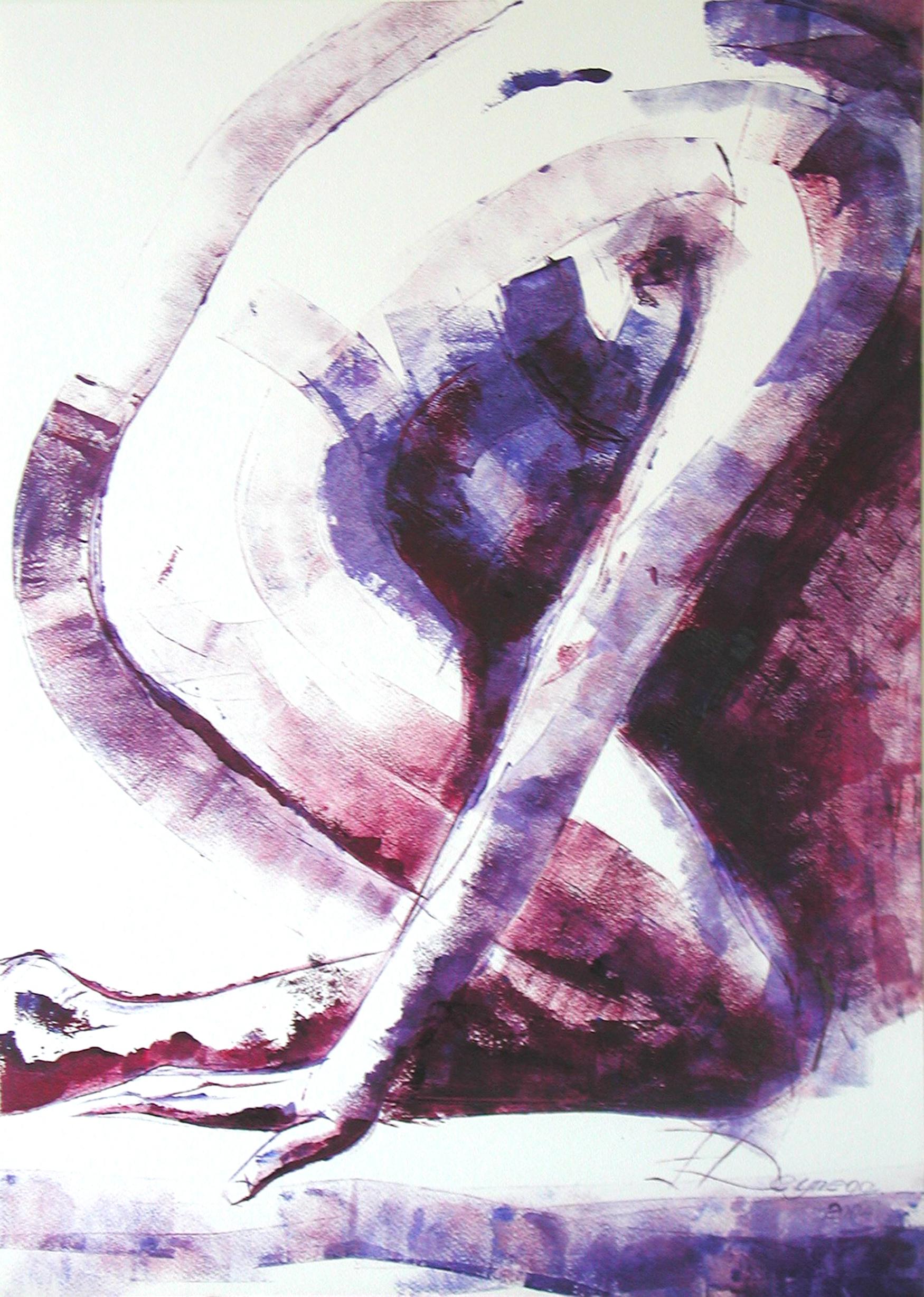 Akt III, Acryl (43x61 cm)